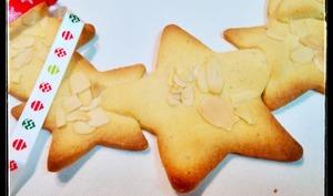 Sablés de Noël amande-tonka