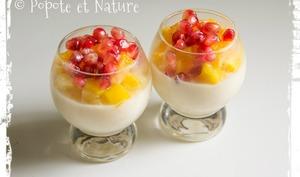 Riz au lait vanillé aux fruits frais exotiques