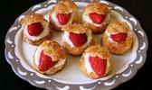 Il reste treize fraises fraîches