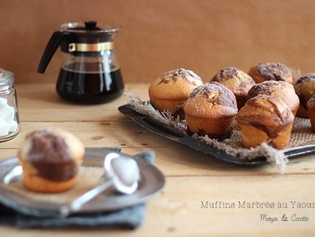 Muffins Marbrés au Yaourt
