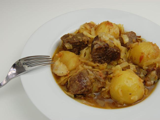 Sauté de bœuf pommes et chou