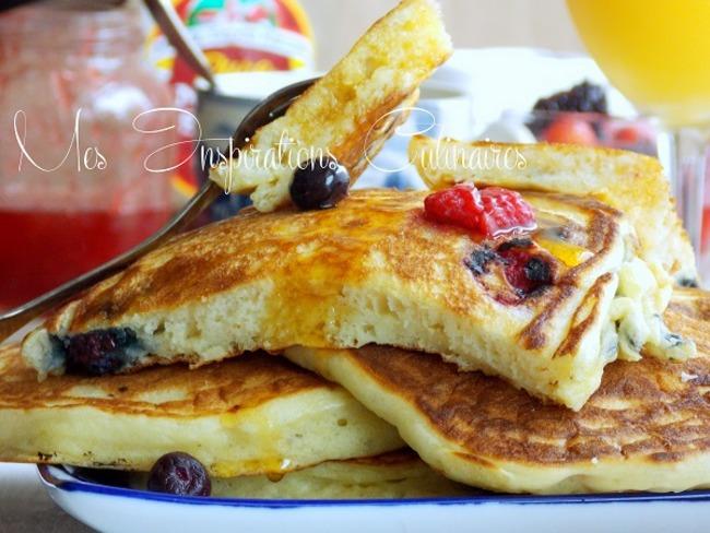 Pancakes moelleux au yaourt