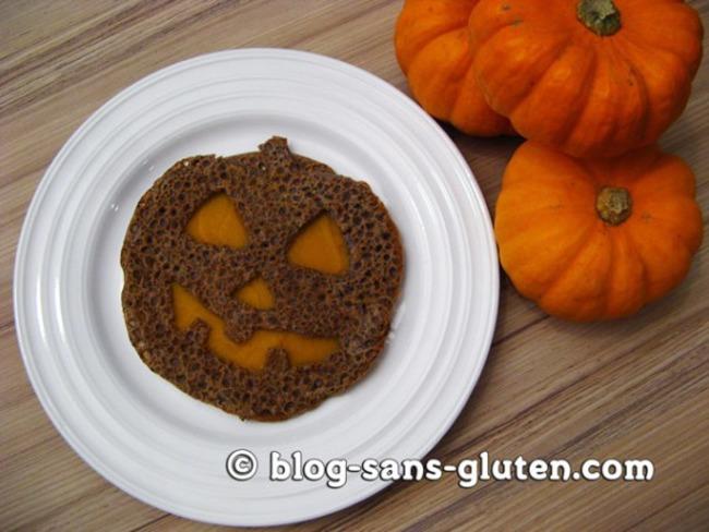 Galette sans gluten au sarrasin et au quinoa, et sa purée de potimarron