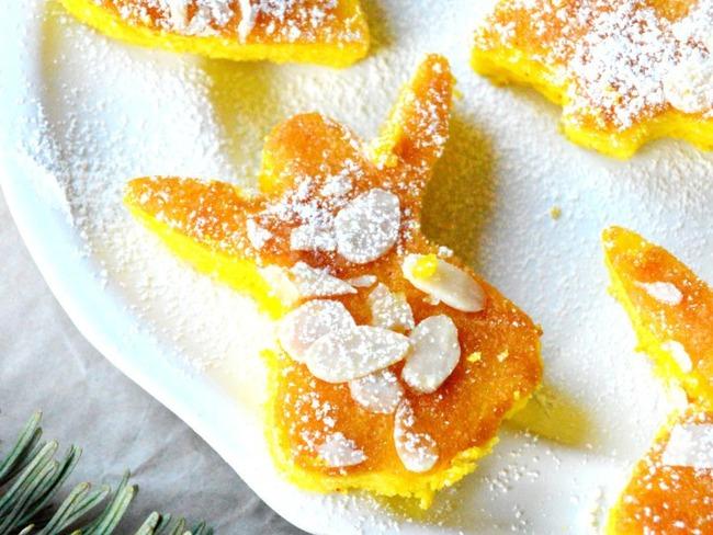 Petits moelleux à l'orange et au safran