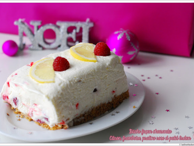 Buche cheesecake