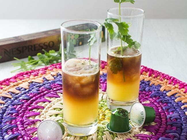 Cocktail sans alcool au café