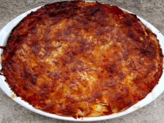 Lasagnes de raviolis