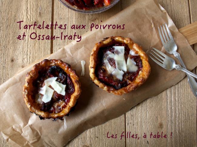 Tartelettes aux poivrons et à l'Ossau-Iraty