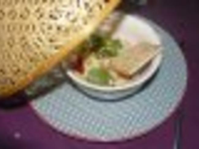 Gambas grillées à l'ail et au gingembre
