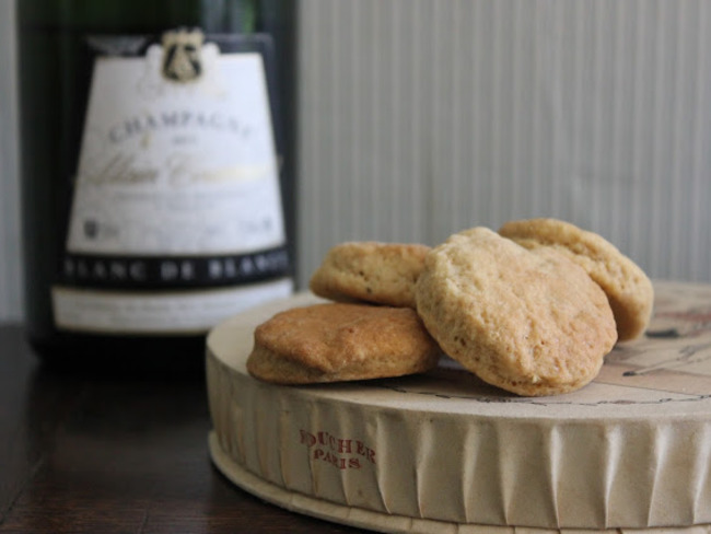 Biscuits au champagne