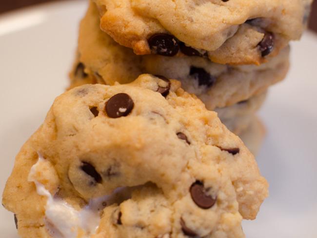 Cookies fondants aux marshmallows
