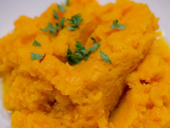 Purée de carottes au miel