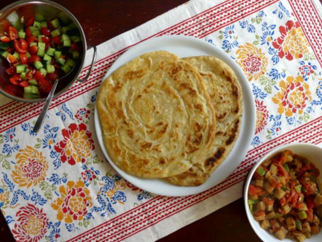 Feseli, galette feuilletée azérie