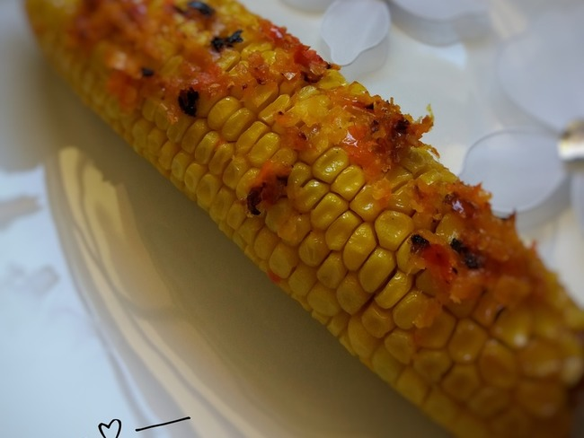 Épis de maïs rôtis au four