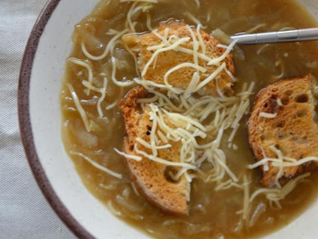 Soupe aux oignons de Roscoff