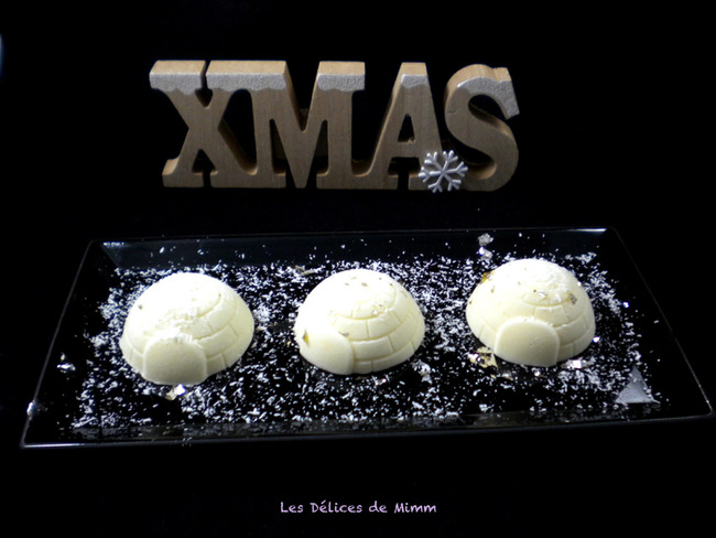 Petits igloos de Noël