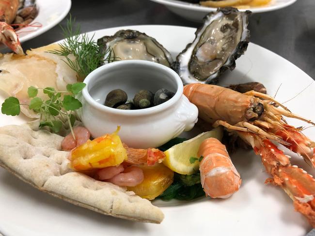 Assiette de la mer