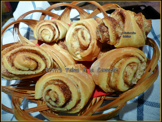 Petits pains à la cannelle