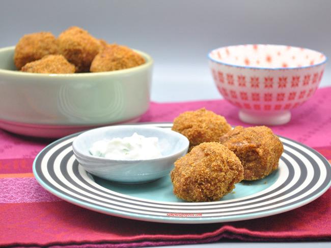 Boulettes de pommes de terre et thon