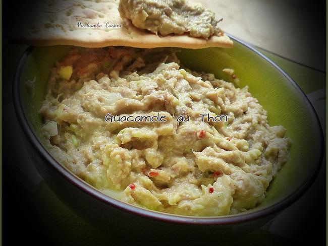 Guacamole au thon