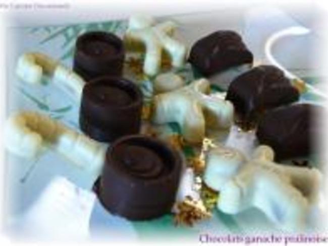 Chocolats Fourrés Ganache-Pralinoise