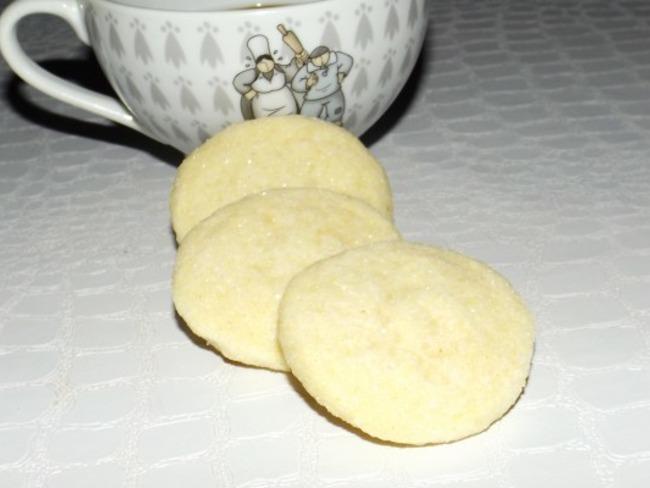 Sablés diamant vanille