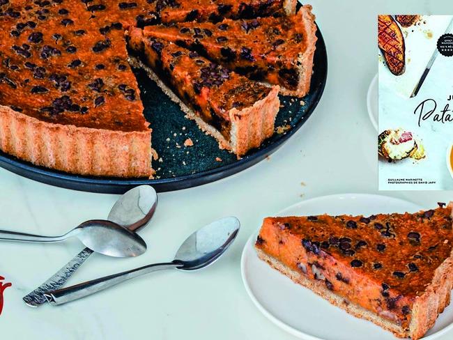 Tarte Patate Douce Chocolat