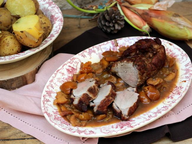 Filet mignon de porc au cognac et mirabelles - Recette par ...