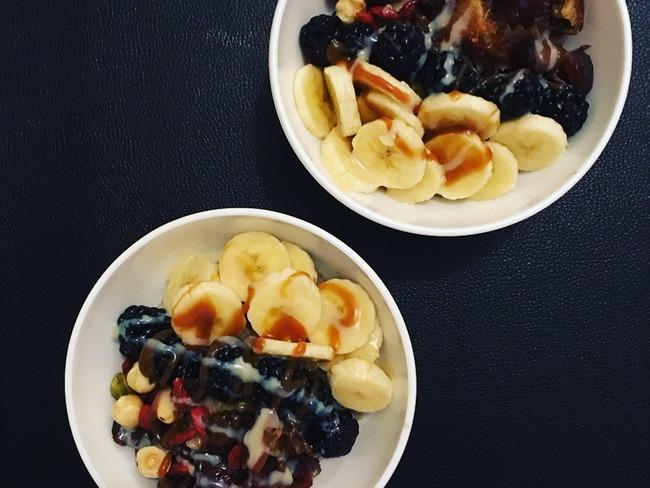 Porridge à la banane et au lait de noisettes