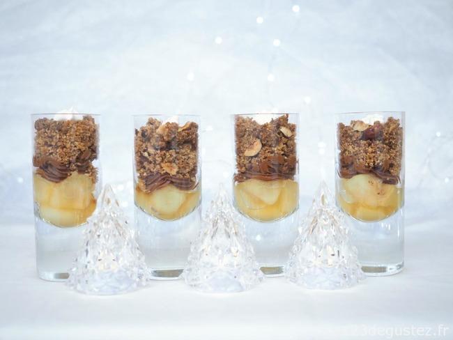 Dessert De Noel En Verrines Recette Par Valerie Du Blog 1 2 3 Degustez