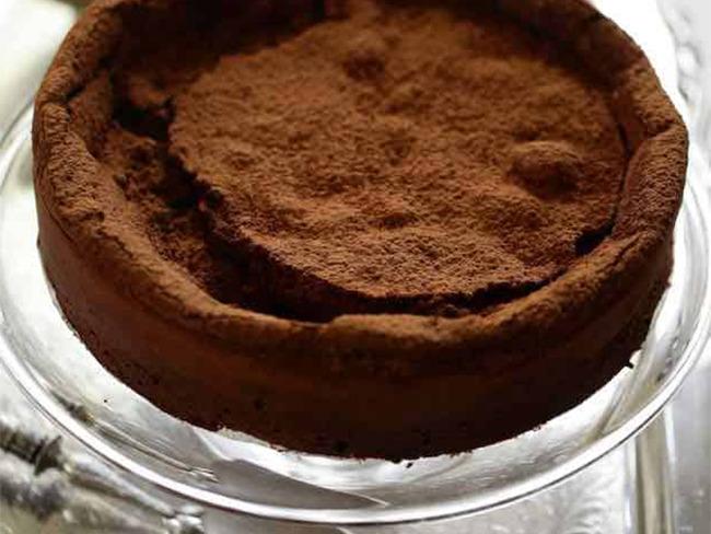 Gâteau au chocolat sans farine sans beurre