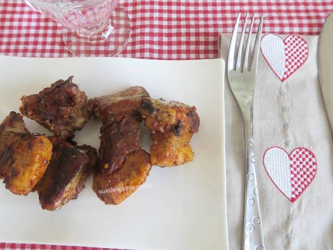 Ribs de porc aux épices chili