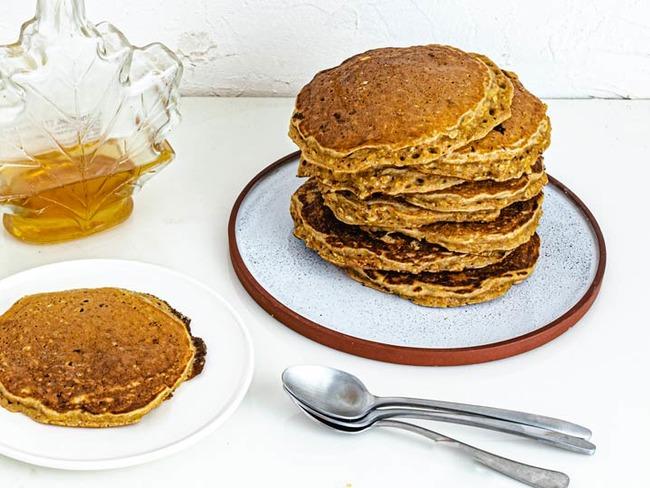 Pancakes à base de flocons d'avoine