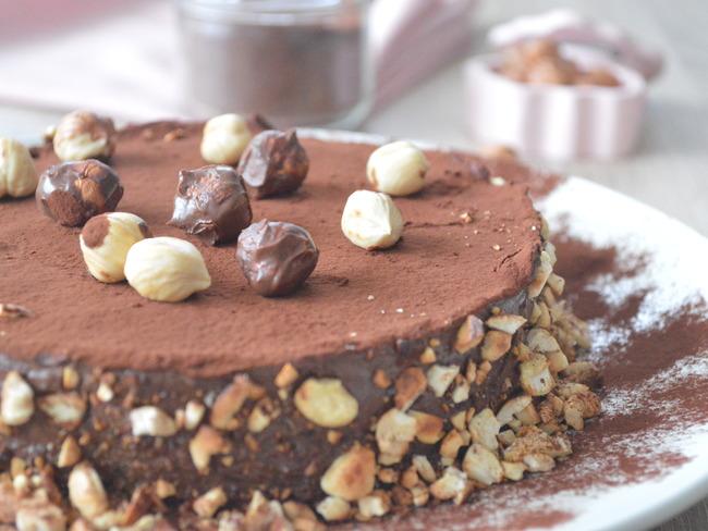 Gâteau léger à la mousse au chocolat
