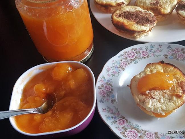 Confiture d'abricots sans sucre