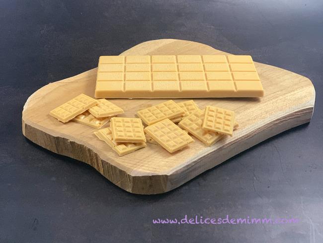 Faire son chocolat Dulcey maison
