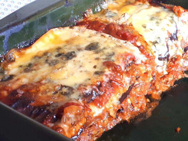 Lasagnes aux aubergines et au bleu d'Auvergne | La bonne bouffe à sam