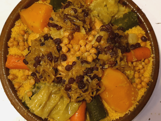Couscous Tfaya au Poulet