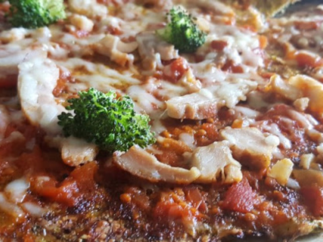 Pizza brocoli fromage