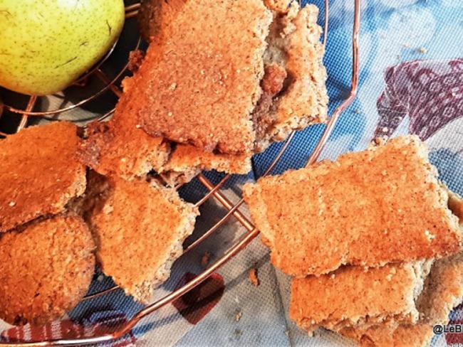Biscuits 'Spéculoos' sans gluten (farine d'amandes et farine d'avoine @Instant OAT)