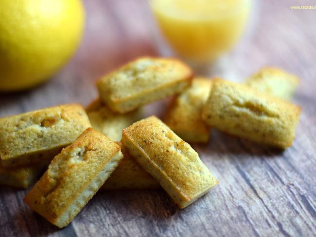 Financiers à la crème de citron