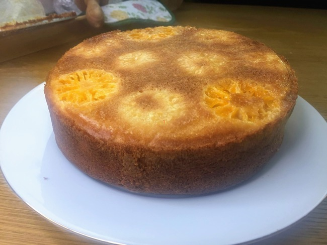 Clémentine cake
