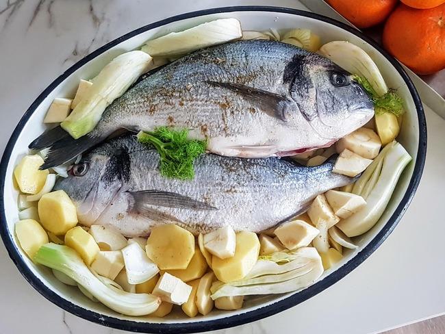 Dorade cuisson au four