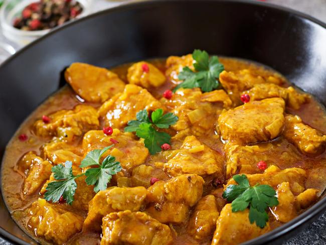 Poulet Curry Indien