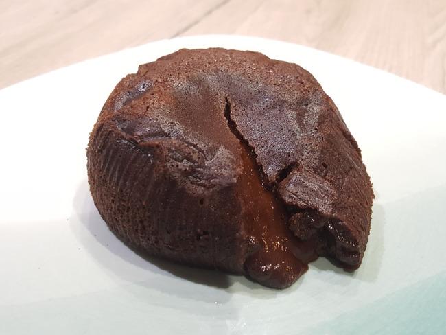 Coulant au chocolat sans beurre