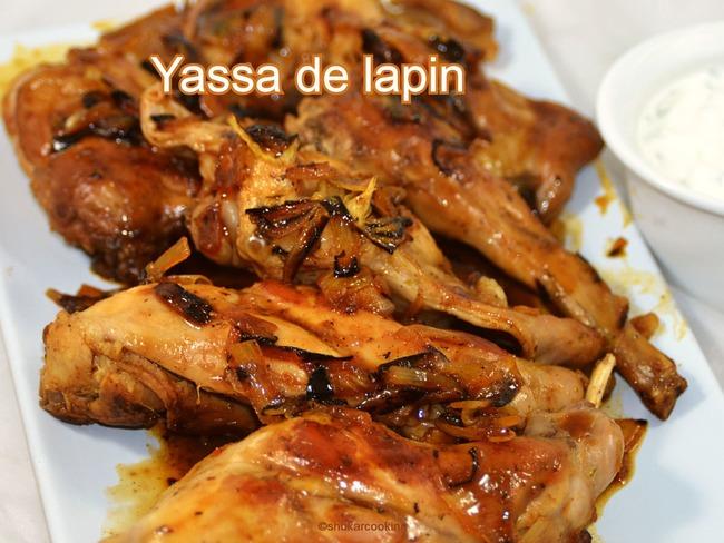 Yassa de lapin