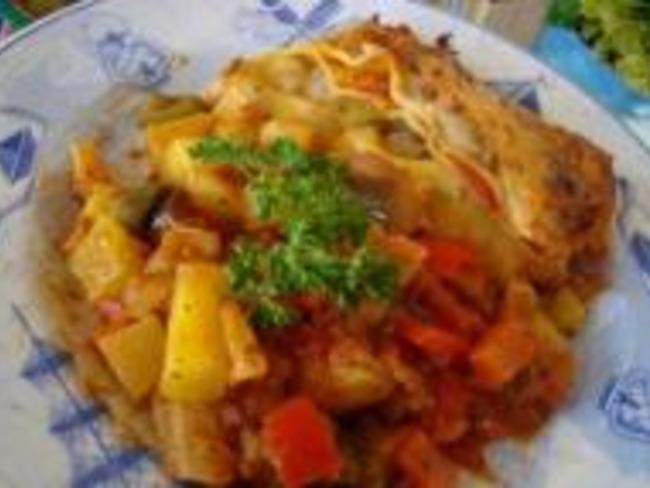 Lasagnes de Courgettes et Tomates
