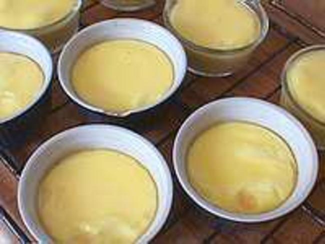 Crèmes au fenouil et anis étoilé