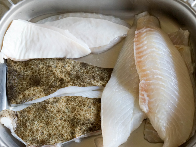 Lever des filets de turbot