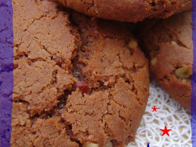 Cookies au noix de pécan et Philadelphia Milka